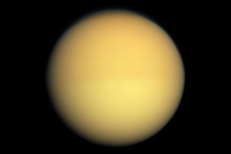 Titan Saturn S Moon Satellite 2nd Largest Moon