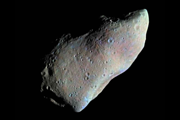 951 Gaspra, the first asteroid imaged by a spacecraft