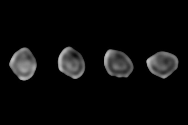 A sequence of images of asteroid 511 Davida