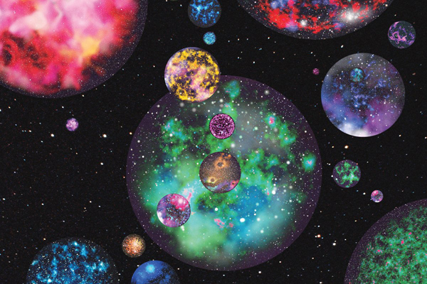 Artist's impression of Multiverse