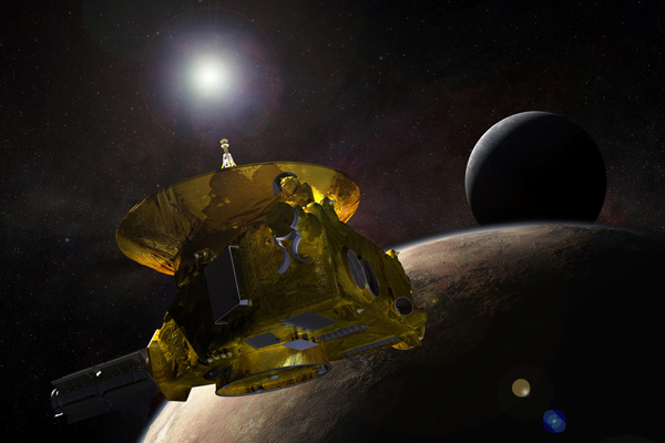 Artist's impression of New Horizons Spacecraft