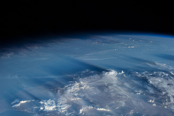 Earth's atmosphere from Space