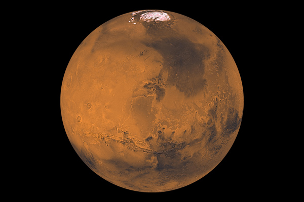 Global Color Views of Mars by Viking