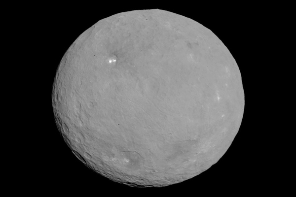 Image of Ceres taken by Dawn Spacecraft
