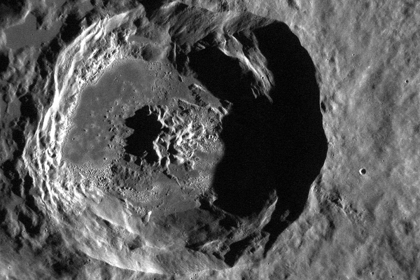Mercury's Caloris Basin, MESSENGER View