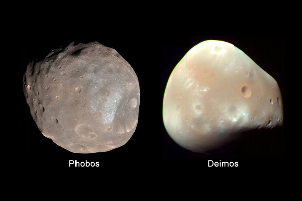 Moons of Mars: Phobos and Deimos