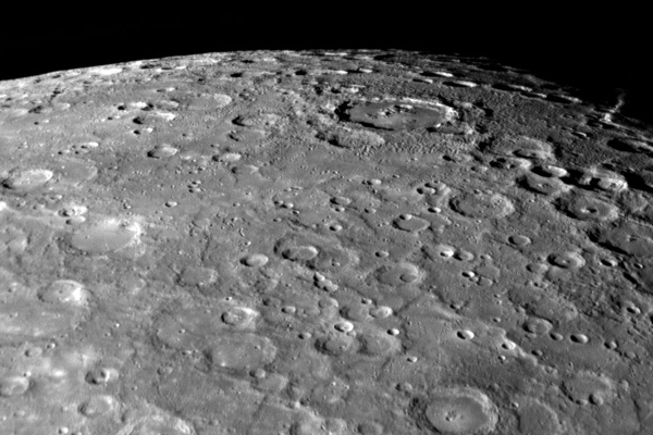 South Pole of Mercury