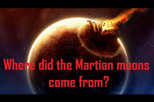 Where Did The Martian Moons Come From?